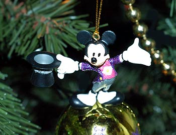 picture showing mickey mouse christmas tree ornament - Mickey Mouse Christmas Tree Ornaments