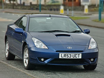 free picture of a toyota celica gt s fast car. Black Bedroom Furniture Sets. Home Design Ideas