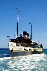 Picture showing Paddle Steamer Waverly